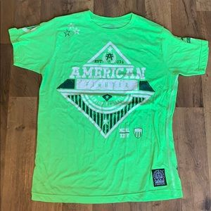 BRIGHT American fighter shirt